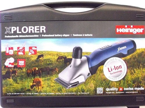 Cordless Cattle Clipper